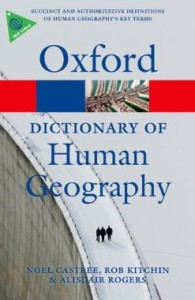 oxford dictionary of human geography